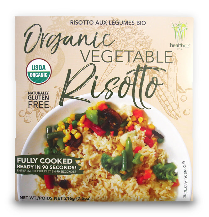HEALTHEE Organic Vegetable Risotto 7.6 oz ( 216gr )
