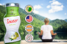 Load image into Gallery viewer, Healthee Soursop Juice -  No Preservatives, Sugars, or Additives - 6-oz. bottles