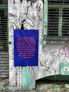 Cover Quote Poster - Quoted NYC Issue 1