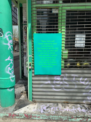 Cover Quote Poster - Quoted NYC Issue 3