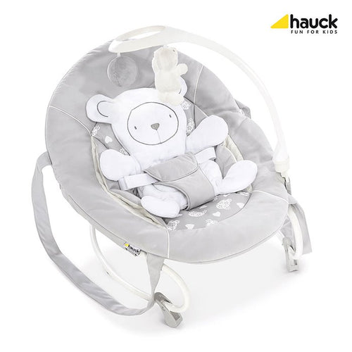შეზლონგი Hauck Leisure Hearts Grey/White