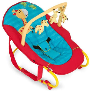 შეზლონგი Hauck Bungee Deluxe Red/Blue