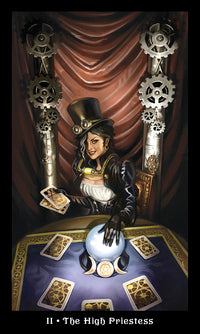 STEAMPUNK TAROT SET (INGLES)