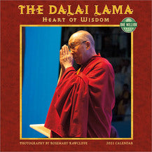 2021 THE DALAI LAMA WALL CALENDAR