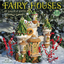 2021 FAIRY HOUSES WALL CALENDAR