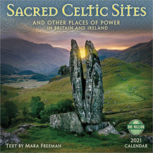 2021 SACRED CELTIC SITES WALL CALENDAR