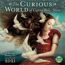2021 CURIOUS WORLD OF CATRIN WELZ-STEIN WALL CALENDAR.