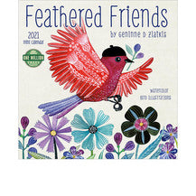 2021 FEATHERED FRIENDS MINI CALENDAR.