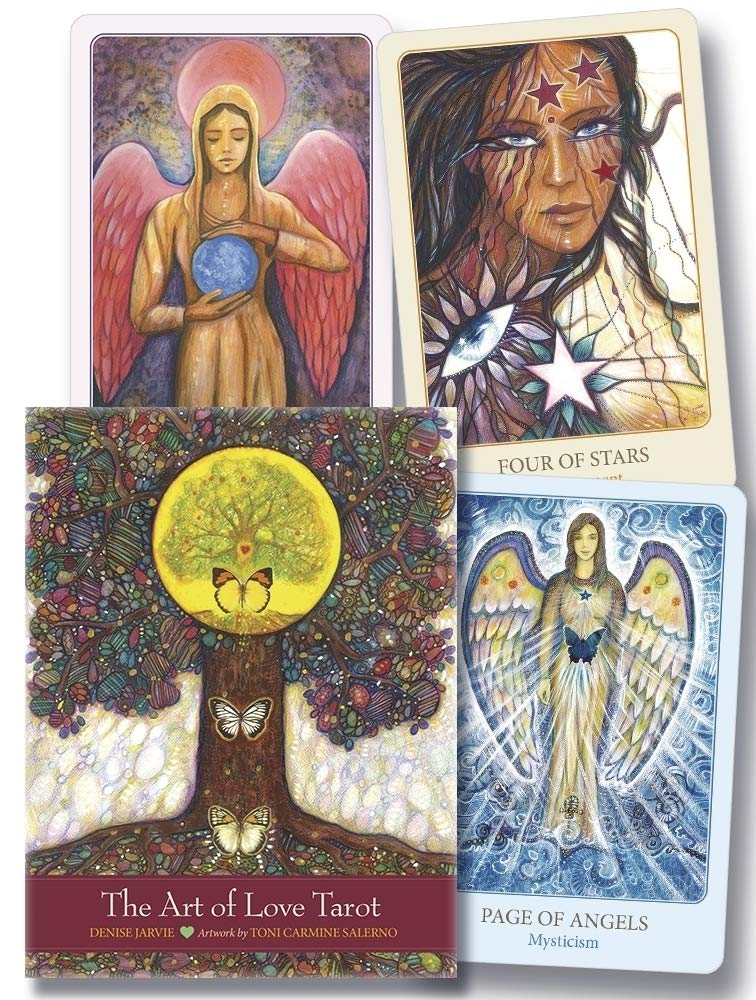 ART OF LOVE TAROT, THE (INGLES)