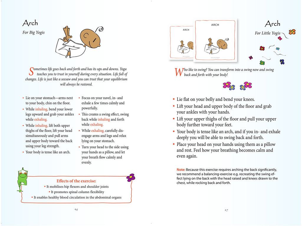 LITTLE YOGI CARDS & BOOK SET (INGLES)