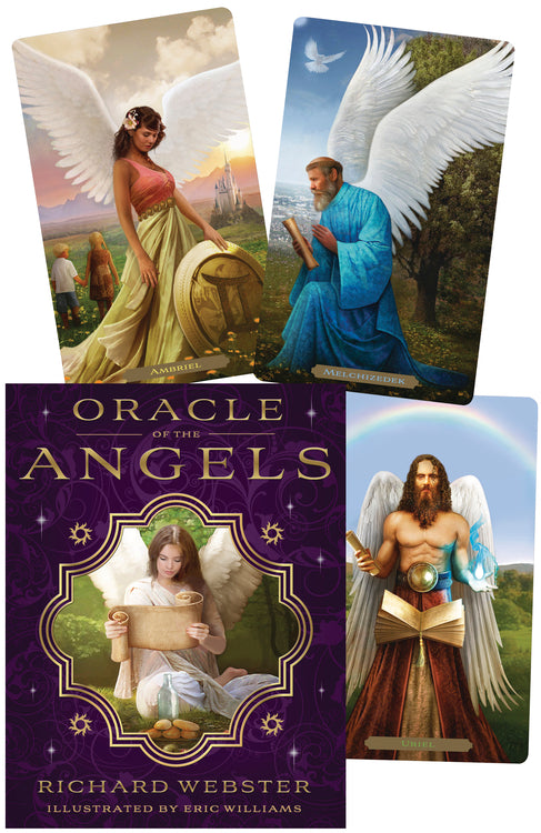 ORACLE OF THE ANGELS - WEBSTER (INGLES)