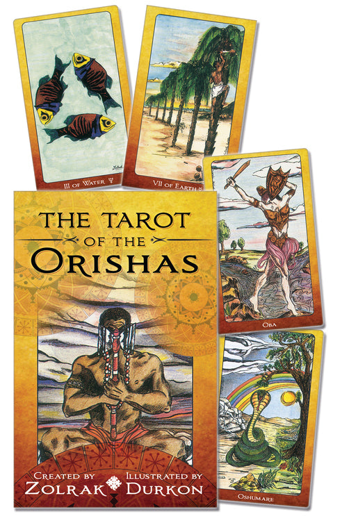 TAROT OF THE ORISHAS -ZOLRAK SET (INGLES)