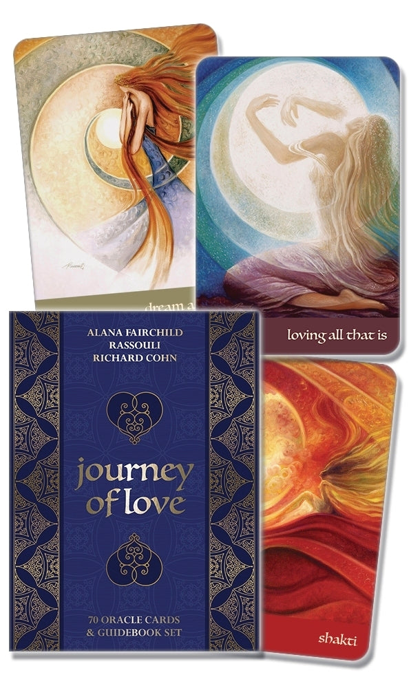 JOURNEY OF LOVE ORACLE CARDS (INGLES)