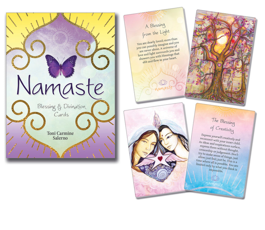 NAMASTE BLESSING & DIVINATION CARDS (INGLES)