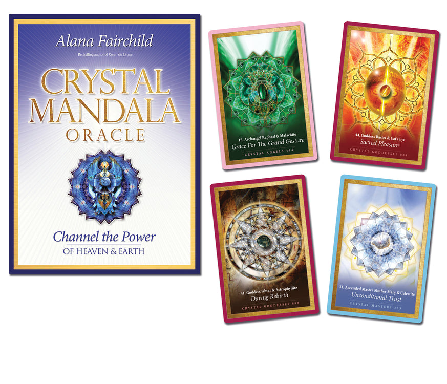 CRYSTAL MANDALA ORACLE (INGLES)