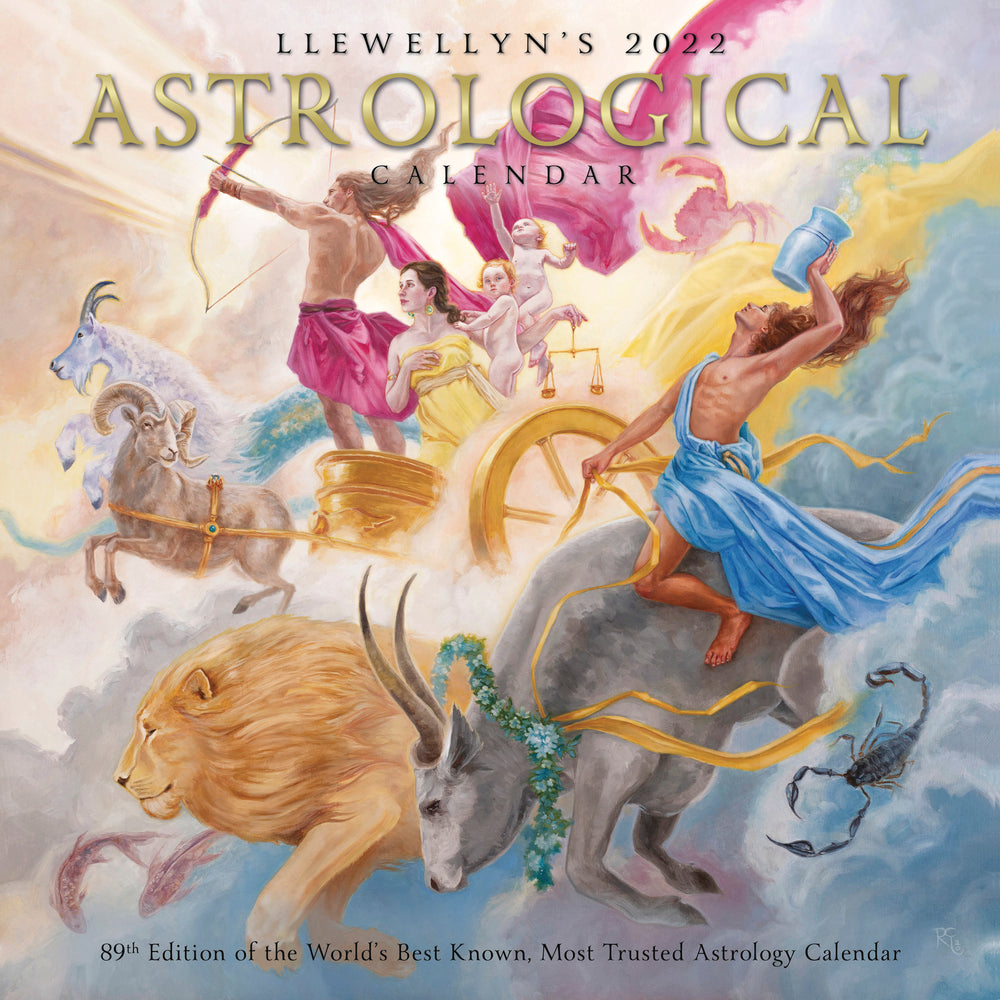 2021 ASTROLOGICAL WALL CALENDAR LLEWELLYN