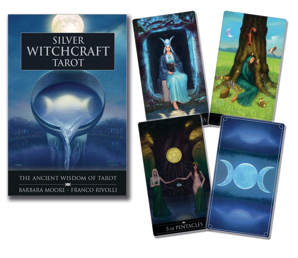 SILVER WITCHCRAFT TAROT SET (INGLES-MULTI)