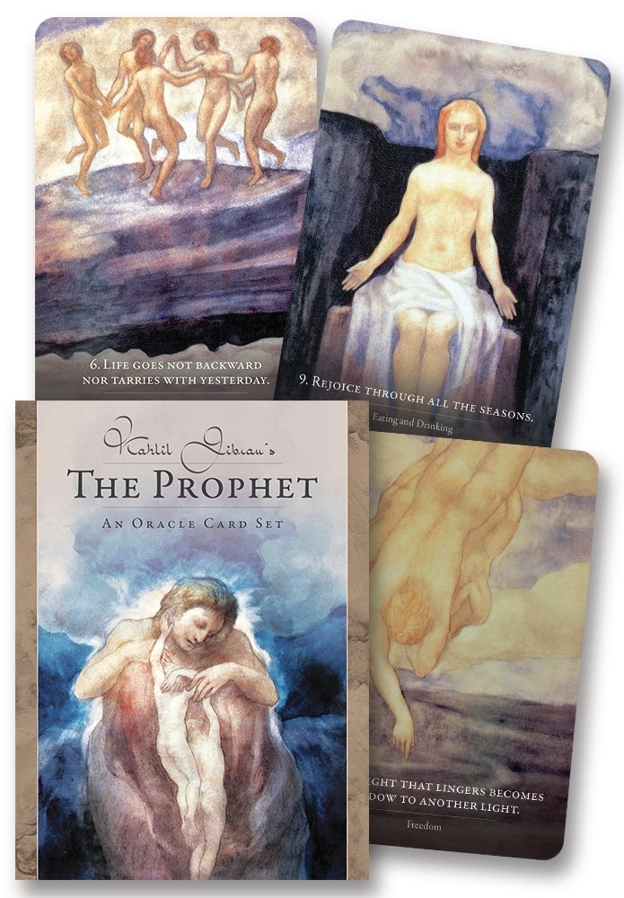 KAHLIL GIBRAN'S THE PROPHET: AN ORACLE CARD SET (INGLES)