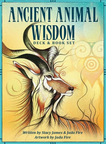 ANCIENT ANIMAL WISDOM CARDS (INGLES)