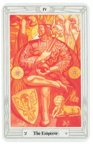 CROWLEY THOTH TAROT MIRROR OF THE SOUL NEW EDITION (INGLES)