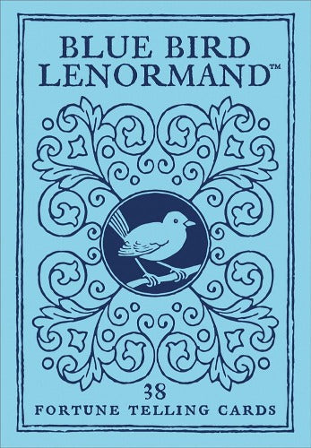 BLUE BIRD LENORMAND CARDS (INGLES)