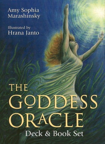 GODDESS ORACLE SET, THE (INGLES)