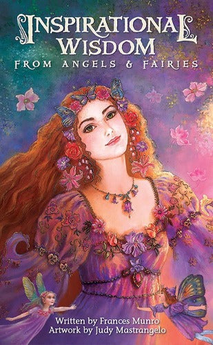 INSPIRATIONAL WISDOM FROM ANGELS & FAERIES (INGLES)