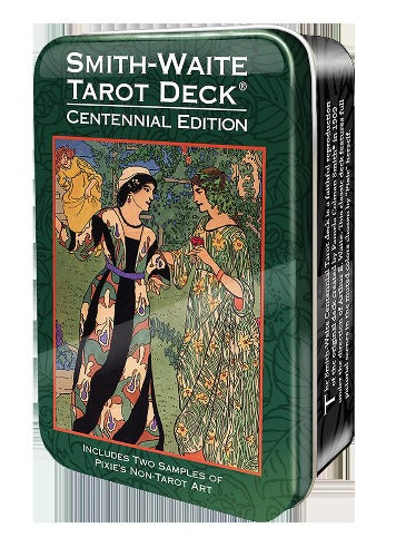 SMITH-WAITE CENTENNIAL TAROT IN A TIN (INGLES)