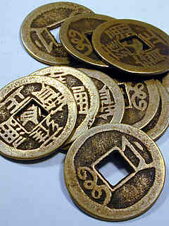 MONEDA I CHING SIMPLE