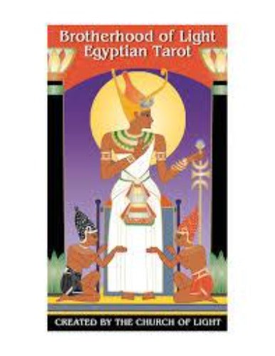 BROTHERHOOD OF LIGHT EGYPTIAN TAROT (INGLES)