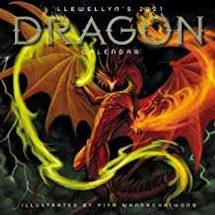 2021 DRAGON WALL CALENDAR LLEWELLYN