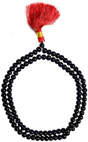 COLLAR JAPAMALA OBSIDIANA NEGRA 8MM