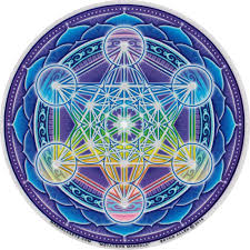 STICKER METATRON MANDALA