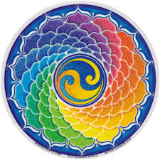 STICKER RAINBOW SPIRAL