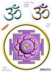 STICKER YANTRA LAKSHMI