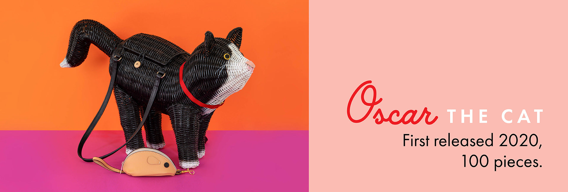 Oscar the cat. First released 2020,  100 pieces.