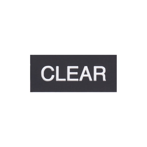 Filter Tag - CLEAR
