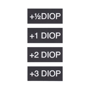 Filter Tags - Diopters Set of 4