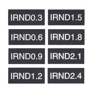 Filter Tags - IRND Set of 8