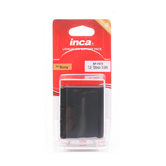 Inca Sony NP-F970 style battery