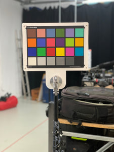 Color Checker Mounting Frame