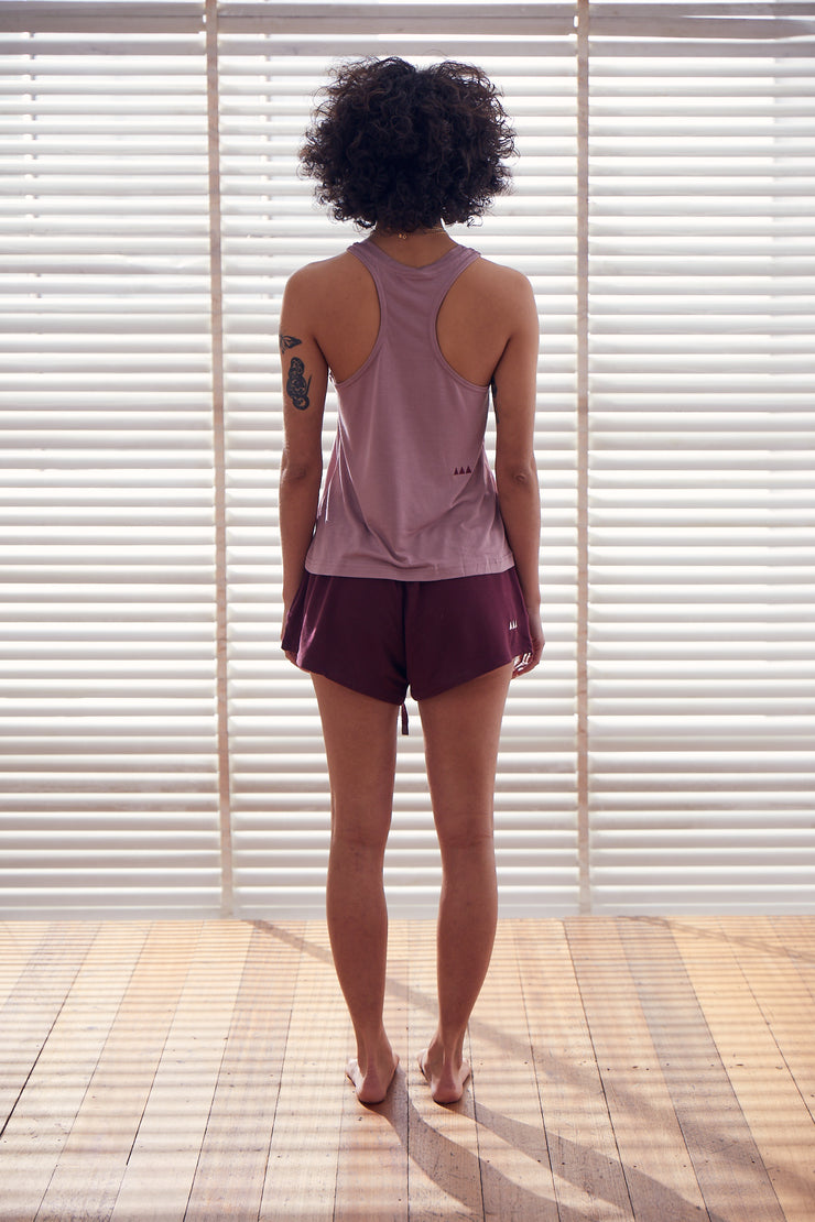 Retreat Singlet | Amethyst