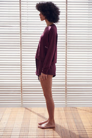 Recline Jumper | Ruby