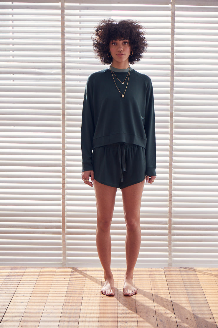 Recline Jumper | Emerald