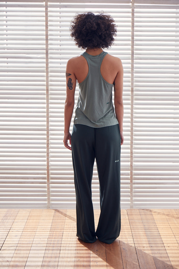 Retreat Singlet | Jade