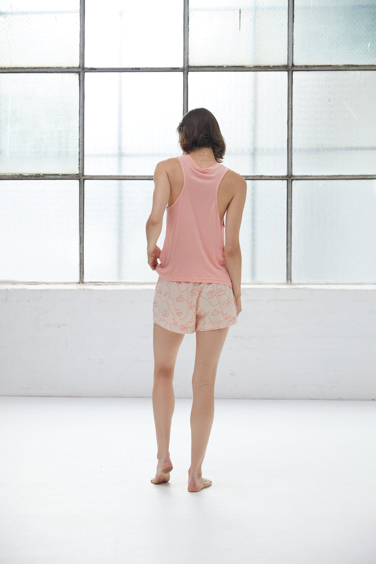 SARA SIDARI SUMMER SET | PEACH