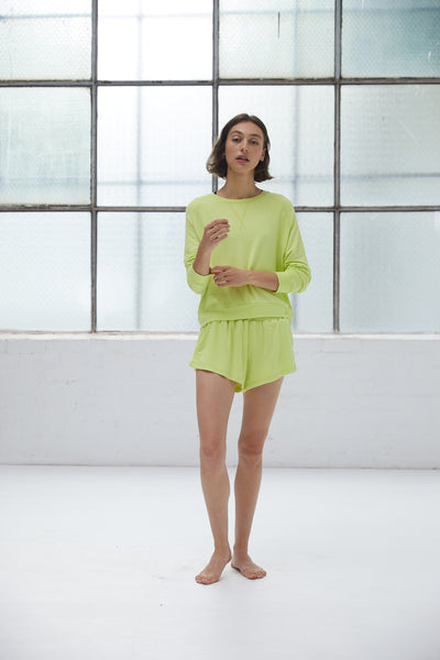 RECLINE JUMPER | CITRON