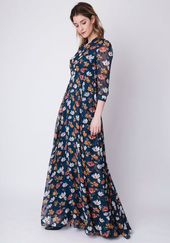 Vestido  de Philippa & Co en neopren estampado