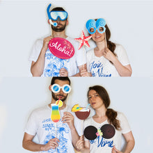 Load image into Gallery viewer, Luau Party Photo Booth Props - 32 Count