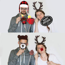 Load image into Gallery viewer, Lumberjack Photo Booth Props - 34 Count